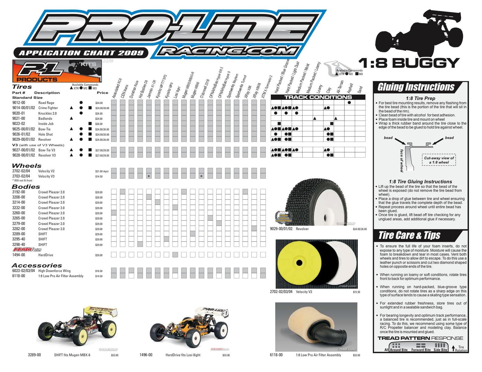 tire charts Ordekeenfixenergy